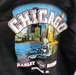 XL Chicago Harley Davidson Tee shirt